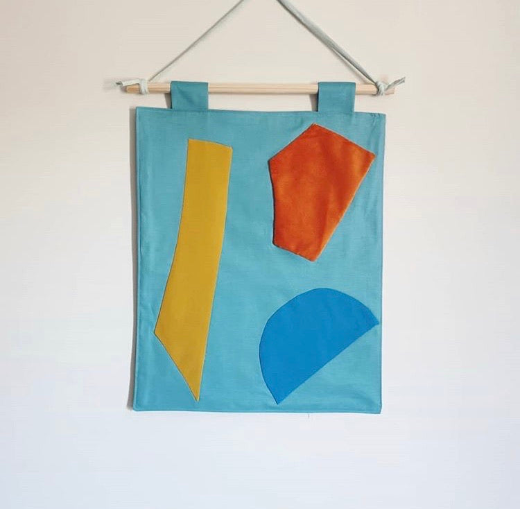 Colour Block Wall Hanging ||
