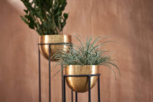 Load image into Gallery viewer, Atsu Brass Planter Stand