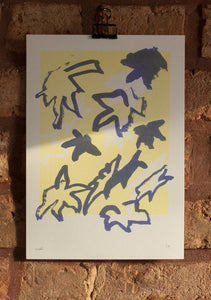 'LEAVES' print by Luca Shaw