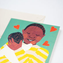 Load image into Gallery viewer, New Baby Cuddle Card - Male