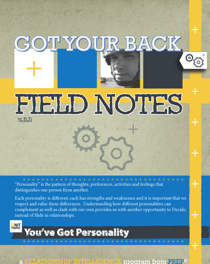 GYB  You've Got Personality (pkg of 10)