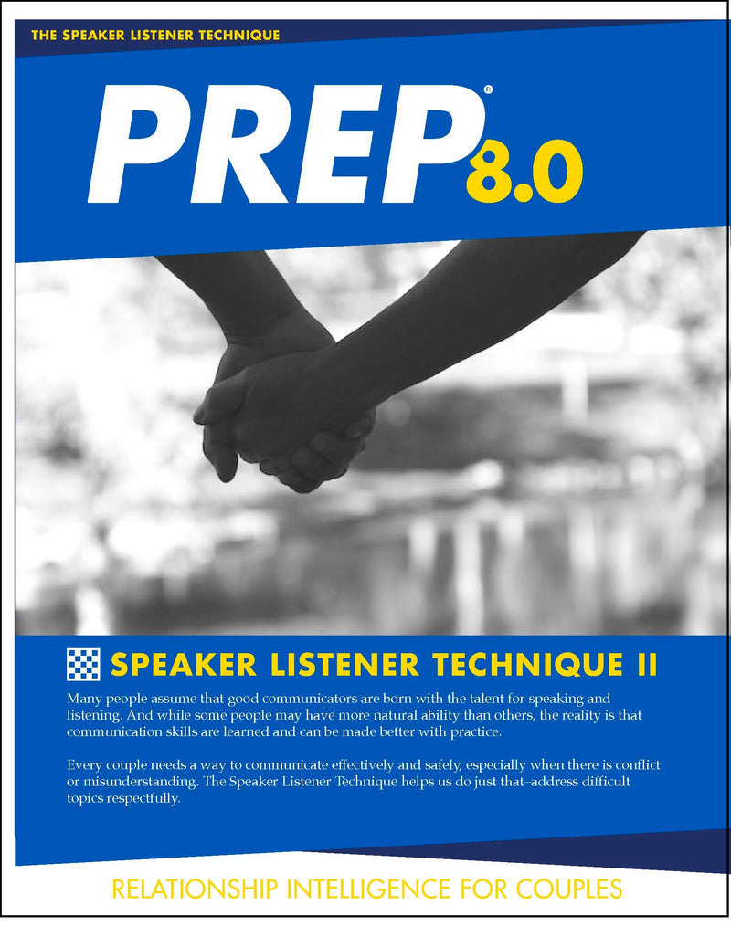 PREP 8.0 Speaker Listener Part II (pkg of 10)