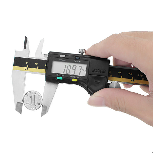 DANIU 6inch Stainless Steel Vernier Digital Caliper