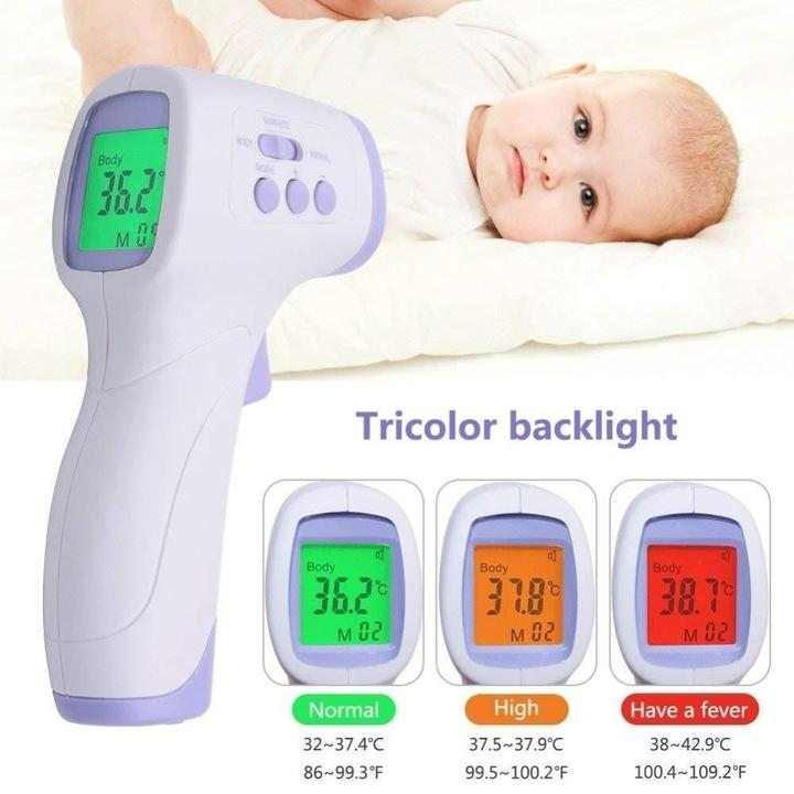 Professional Non-contact Digital Laser Infrared Forehead Thermometer Temperature 35 ℃~42 ℃ CK-T1503