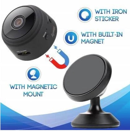 Wireless WiFi Camera with Sensor and Night Vision - Pixie Gears
