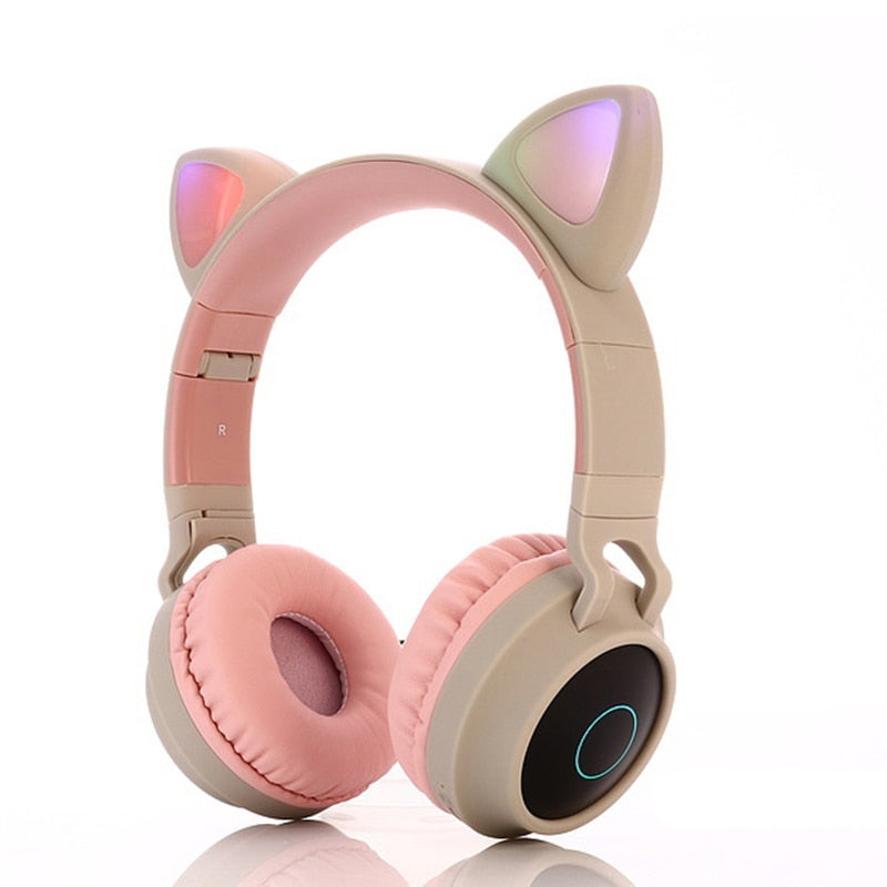 WIRELESS CAT EAR NOISE CANCELLING HEADPHONES