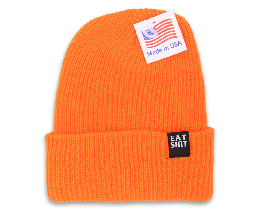Eat Shit Orange Beanie