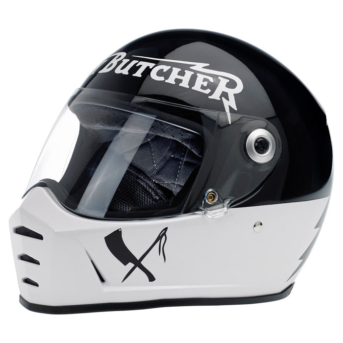 Rusty Butcher x Biltwell Lane Splitter Helmet