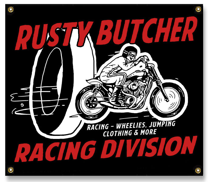 Racing Division Banner 3'x3.5'