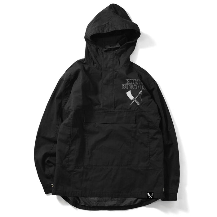 Paint Everything Black Anorak