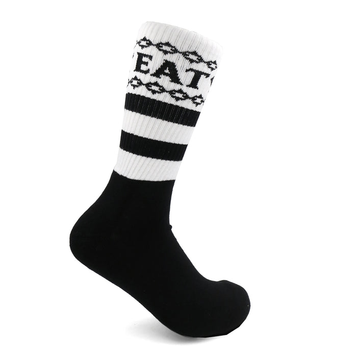 Chained Eat Shit Socks