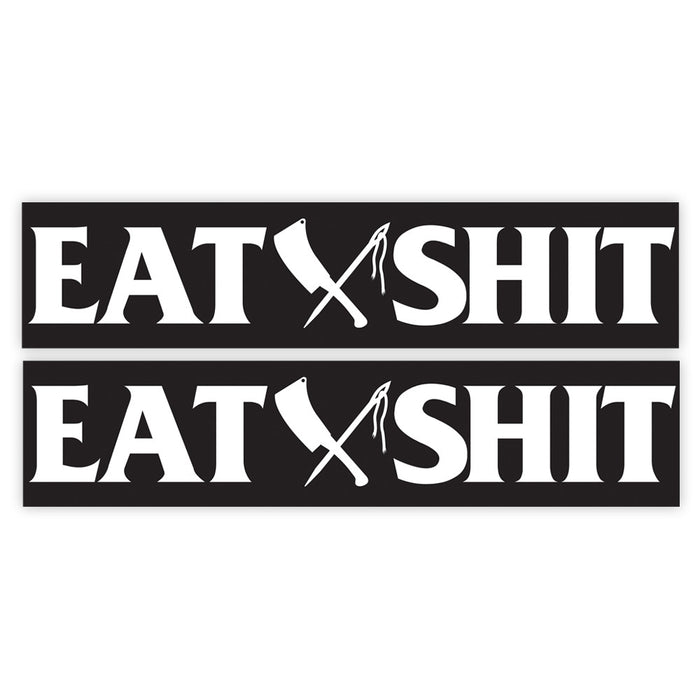 Eat Shit Dyna Swingarm Sticker