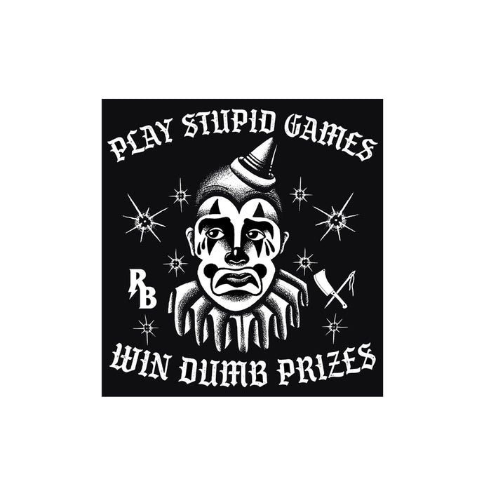 Stupid Games Sticker