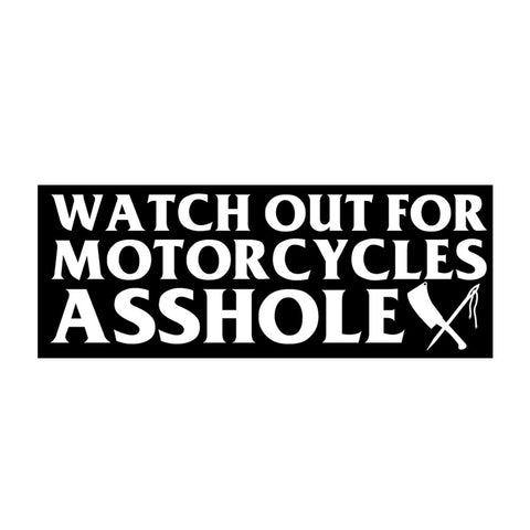 Watch Out Sticker
