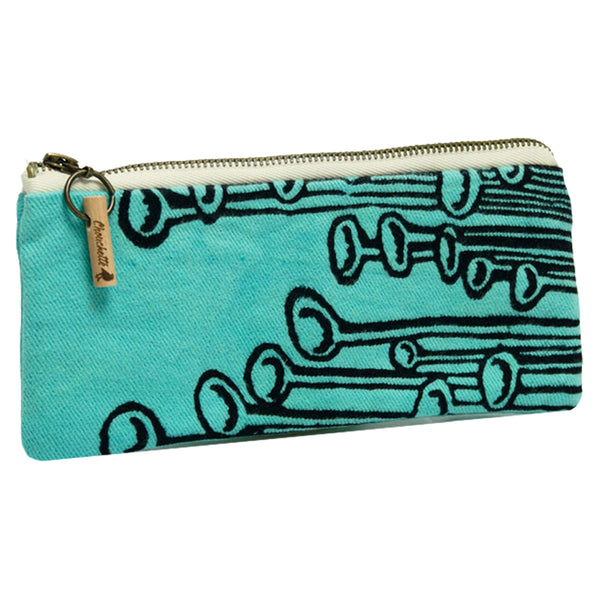 'Stuck to the floor' Pencil Case - Cosmetic Pouch