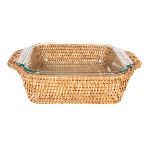Square Baker Basket with Pyrex