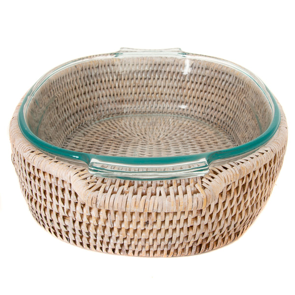 ATC-BS179 Oval Baker Basket with Pyrex