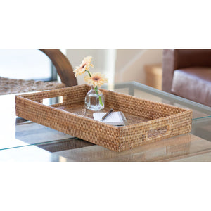 Rectangular Tray with Cutout Handles