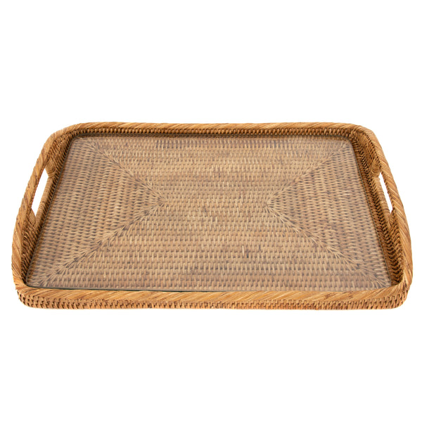ATC-BS197 Rectangular Tray with Glass Insert
