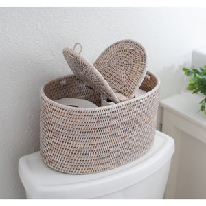 Oval Double Tissue Roll Box