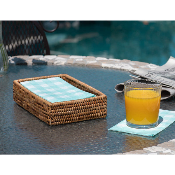 Guest Towel - Rectangular Napkin Holder