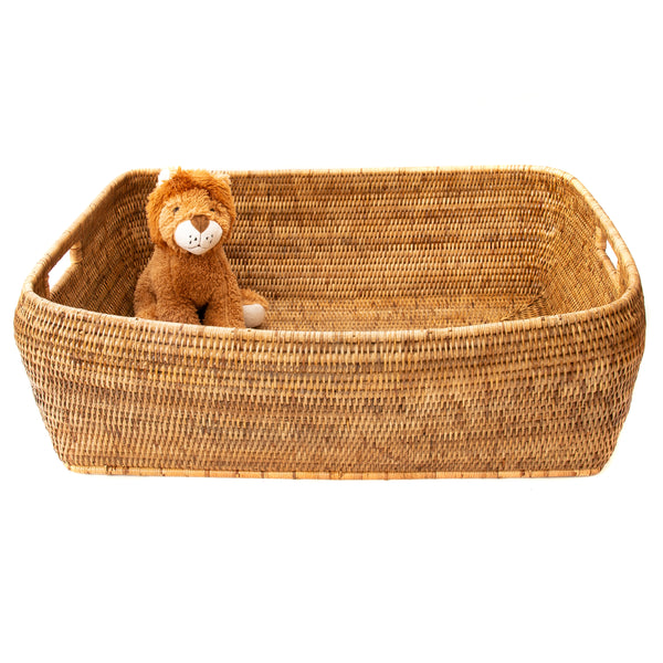 Rectangular Oblong Storage Basket