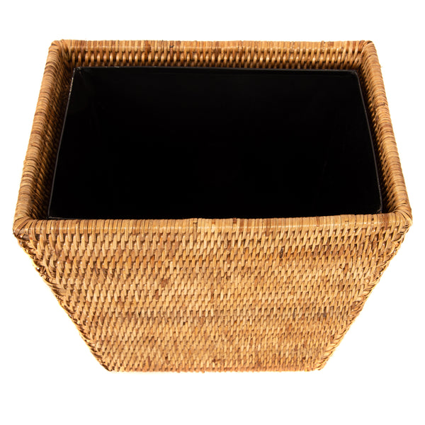 ATC-BS357 Rectangular Tapered Waste Basket with Metal Liner
