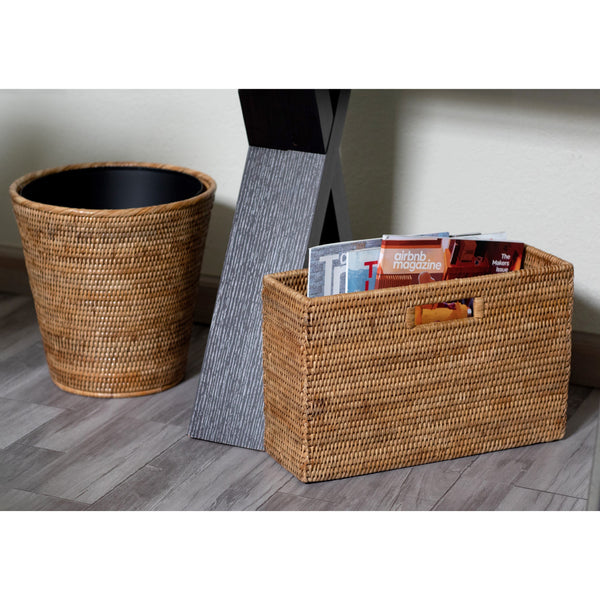 Magazine Container Honey Brown