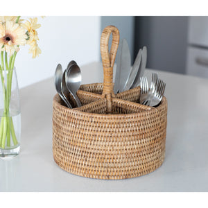 ATC-BS581 Round 4 section Caddy/Cutlery Holder