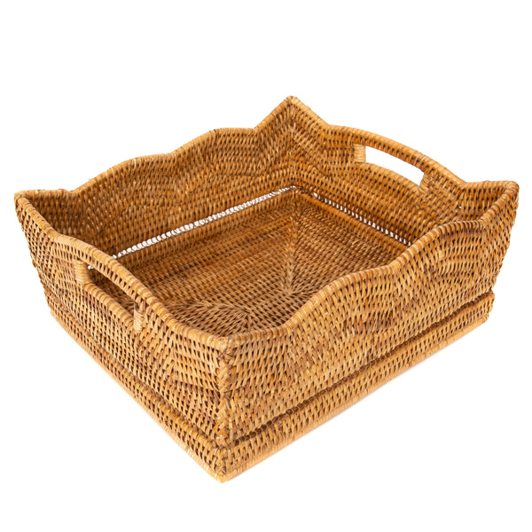 Scallop Collection Shelf Basket
