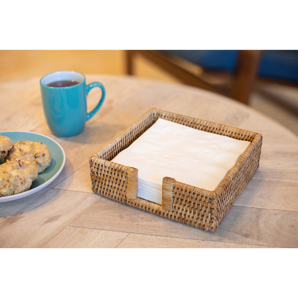 Luncheon Napkin Holder with Cutout