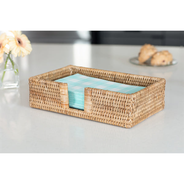 Guest Towel - Rectangular Napkin Holder with Cutout