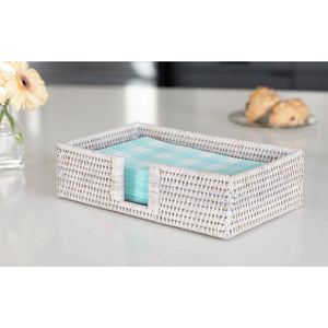 Rectangular Napkin Holder with Cutout