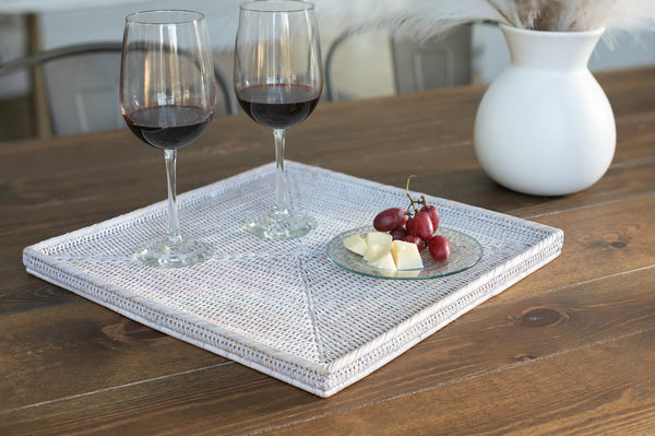 Square Flat Tray