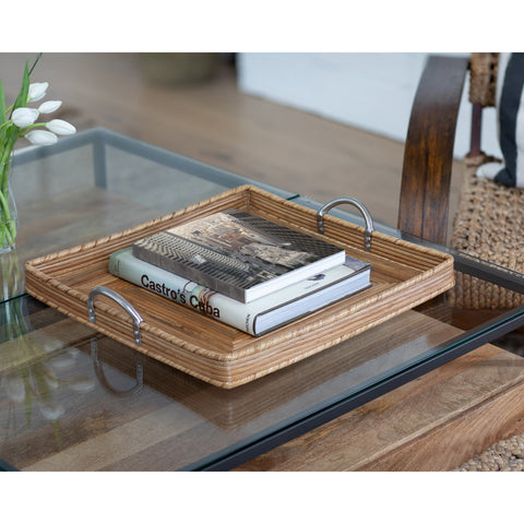 ATC-SR-210 Square Tray with Stainless Steel Handles