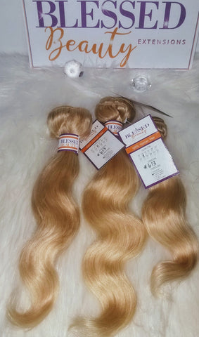 Blonde #613 Body Wave Bundle Deal (3)