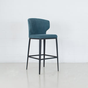 Cabo Fabric Metal Stool