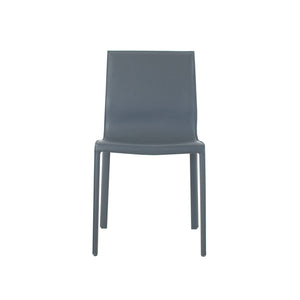 Colton Leather Upholstered Side Chair