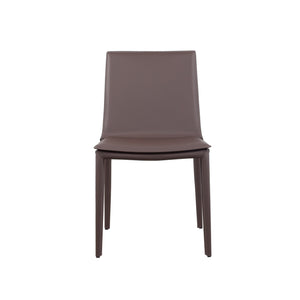 Hilton Leather Upholstered Side Chair