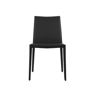 Prima Leather Upholstered Side Chair