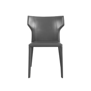 Wilfred Leather Upholstered Side Chair
