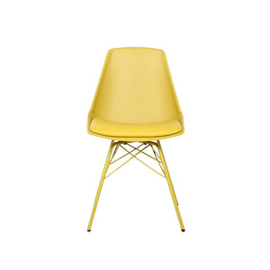 molded plastic dining chair