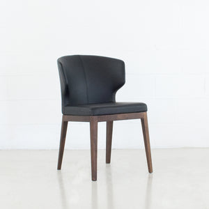 Cabo Leatherette Wood Dining Chair