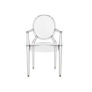 Philippe Starck Louis Ghost Armchair