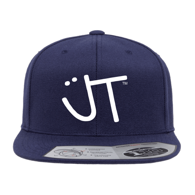 JT Smiley Snapback Blue