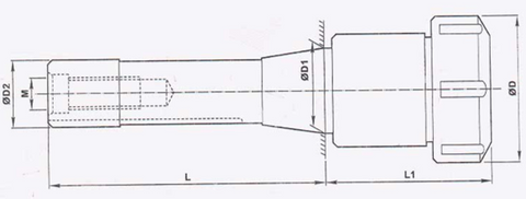 R8 E type Collet chucks and holders RR Brand