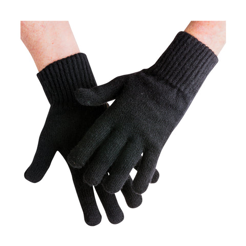 ALL WOOL WINTER GLOVES