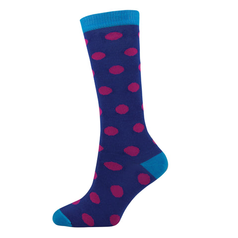 KIDS LONG SPOT SOCKS