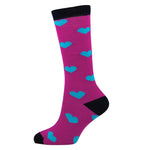 KIDS LONG HEART SOCKS