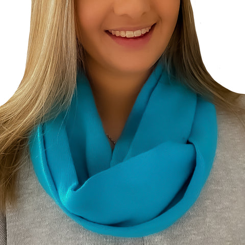 WOMENS CASHMERE LOOP SCARF